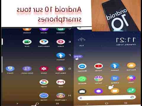 Comment avoir android 10